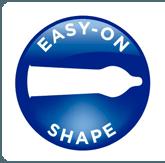 ¿Como es la forma Anatómica o Easy On de los condones y que ventajas tiene?
